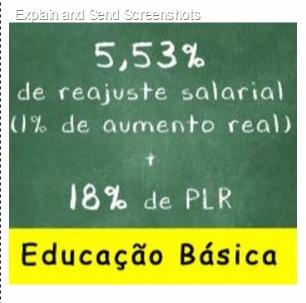 REAJUSTE SALARIAL 2017 EDUCAÇÃO BÁSICA