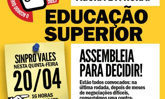 ASSEMBLEIA DOS PROFESSORES DO ENSINO SUPERIOR