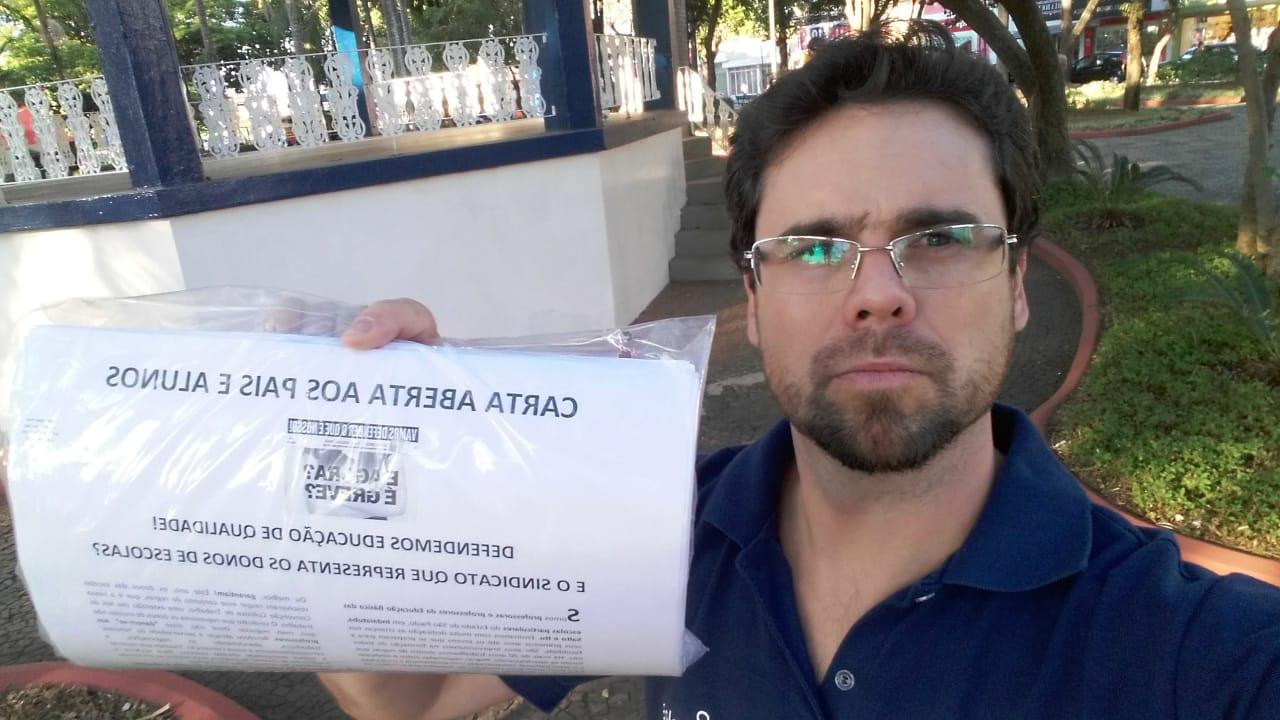 DIRETORIA DO SINDICATO DIVULGA CARTA INFORMANDO OS PROFESSORES SOBRE AS NEGOCIAÇÕES SALARIAIS