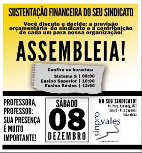 ASSEMBLEIA DE  CONTRIBUIÇÃO ASSISTENCIAL 2019