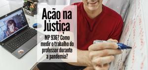 AÇÃO CONTRA OS EFEITOS DA MP 936