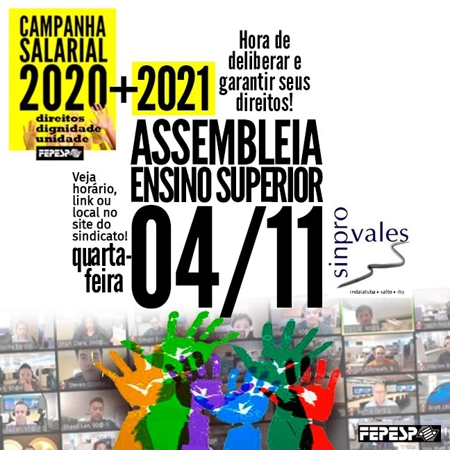 ASSEMBLEIA GERAL DO ENSINO SUPERIOR - 04-11-2020