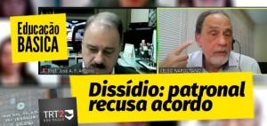 PATRONAL RECUSA CONCILIAÇÃO NO DISSÍDIO DO TRT 2ª REGIÃO
